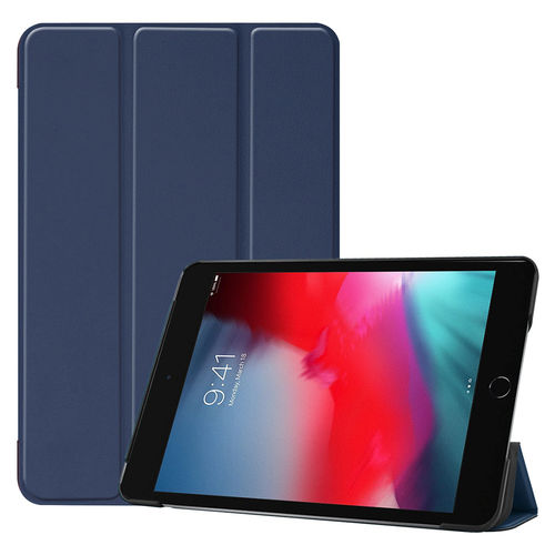 Trifold Smart Case & Stand for Apple iPad Mini 5 / Mini 4 - Blue